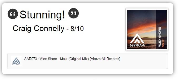 Alex Shore Maui support